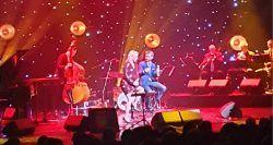 Aga Zaryan i Matt Dusk podczas koncertu 20.12.2019